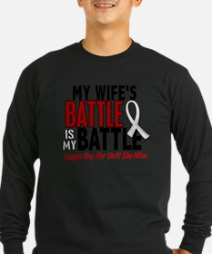My Battle Too 1 PEARL WHITE (Wife) Long Sleeve T-S