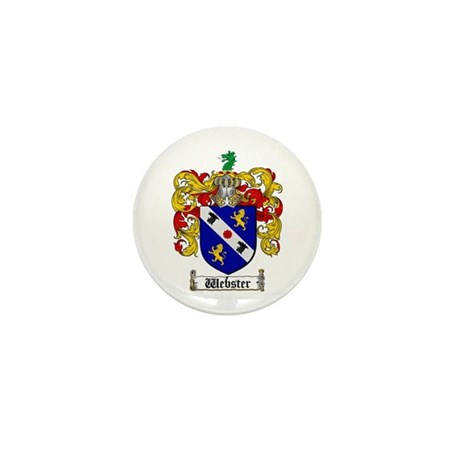 Webster Coat of Arms Mini Button