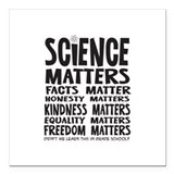 Science Square Car Magnets