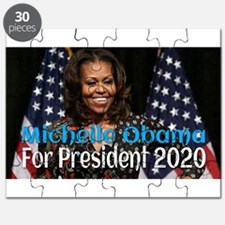 Michelle Obama For President 2020 Puzzle