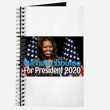 Michelle Obama For President 2020 Journal
