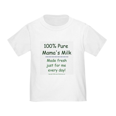 Breastfeeding Mama's Milk Toddler T-Shirt