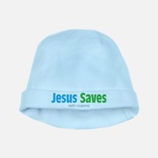 Jesus Saves (with coupons) baby hat