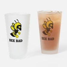 Funny Angry bees Drinking Glass