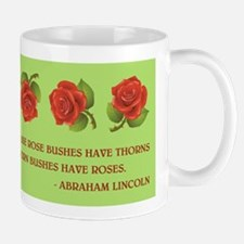 LINCOLN QUOTE Mugs