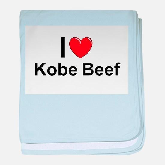 Kobe Beef baby blanket