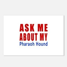Ask Me About My Pharaoh H Postcards (Package of 8)