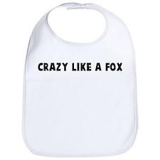 Crazy like a fox Bib