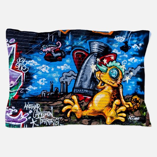 Ganja Graffiti Pillow Case