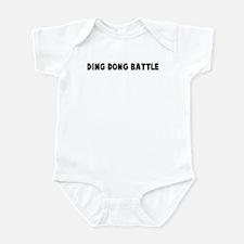 Ding dong battle Infant Bodysuit