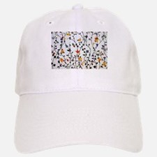 CUTE FLORAL AND VINE ALL OVER PATTERN Cap