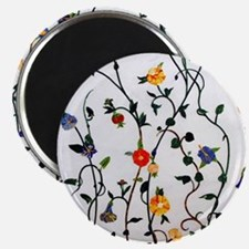 CUTE FLORAL AND VINE ALL OVER PATTERN Magnets