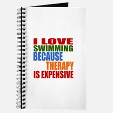 I Love Swimming Because Therapy Is Expensi Journal