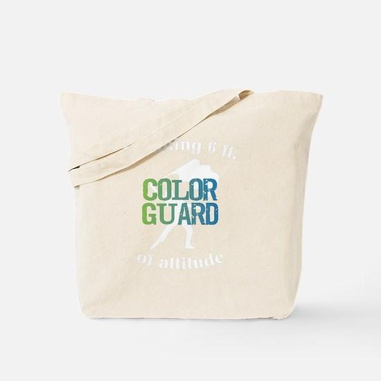 Cool Color guard Tote Bag