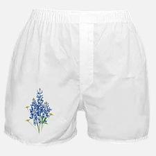 Unique Blue flower Boxer Shorts