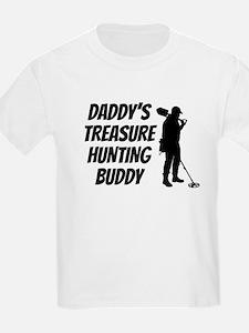 Daddys Treasure Hunting Buddy T-Shirt