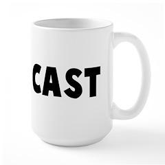 Die is cast Mug