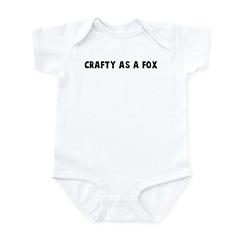 Crafty as a fox Infant Bodysuit