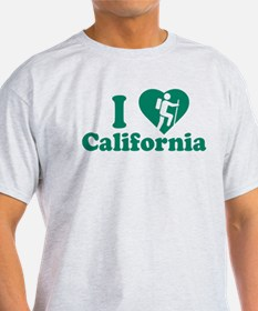 Love Hiking California T-Shirt