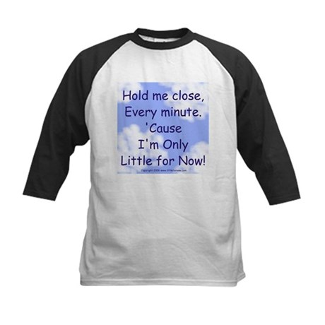 Only Little for Now Kids Baseball Jersey