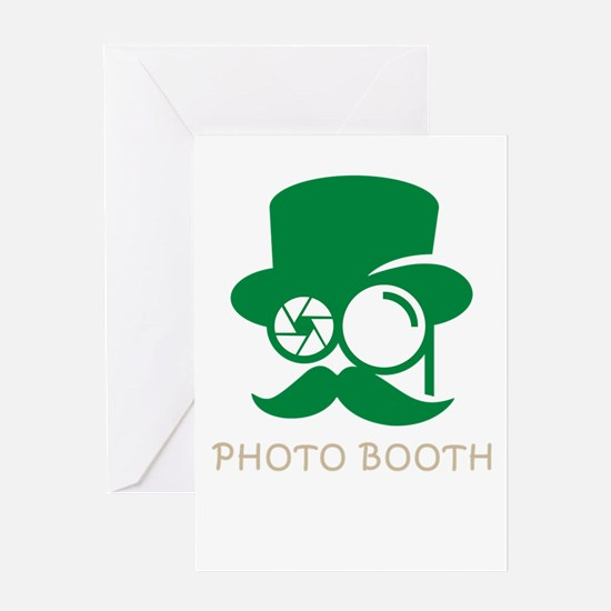 photo booth Greeting Cards