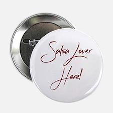 "Salsa Lover 2.25"" Button (10 pack)"