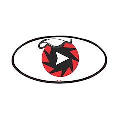 1Radio.FM - Dark Logo Patch