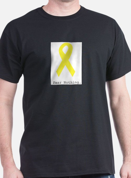 Yellow. Fear Nothing T-Shirt