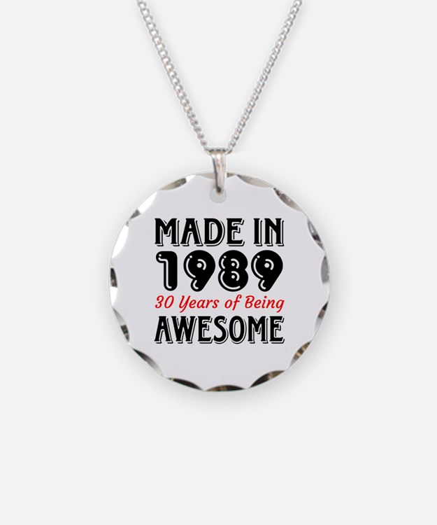 Made In 1987 30 Years of Bei Necklace