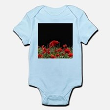 Red Poppies in bright sunlight Body Suit