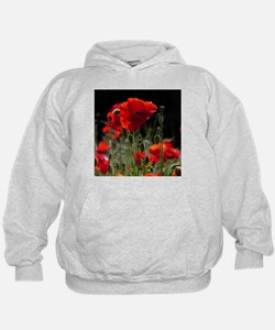 Red Poppies in bright sunlight Sweatshirt