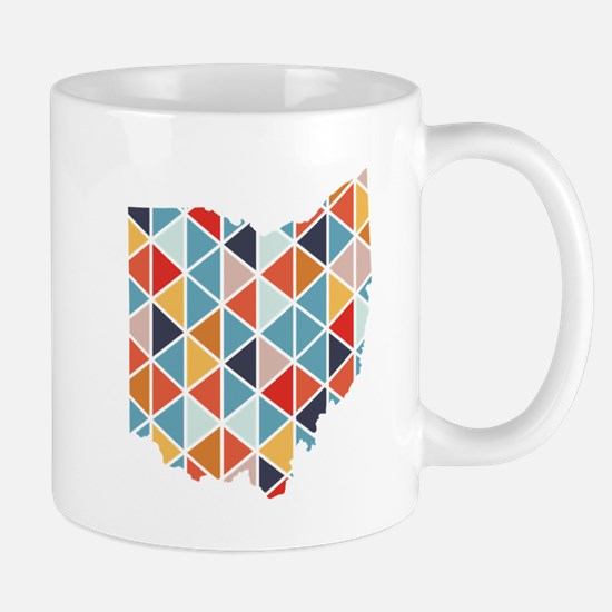 Patchwork Ohio Mugs