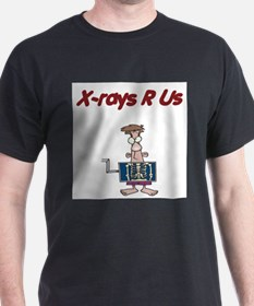 X-Rays Are Us Ash Grey T-Shirt
