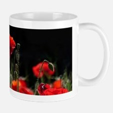 Red Poppies in bright sunlight Mugs