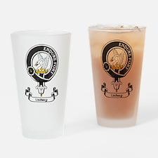 Badge - Lindsay Drinking Glass