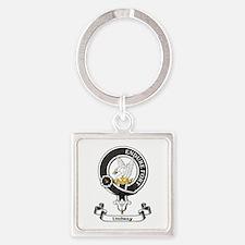Badge - Lindsay Square Keychain