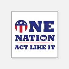 One Nation Sticker
