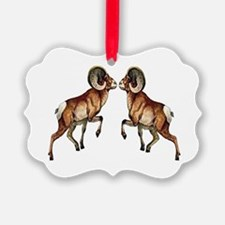 BIGHORNS Ornament