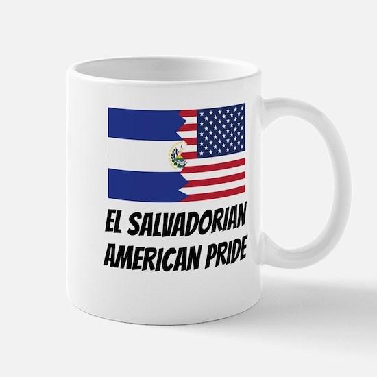 El Salvadorian American Pride Mugs