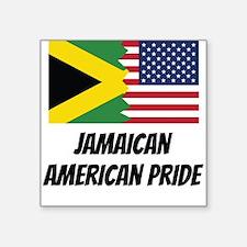 Jamaican American Pride Sticker