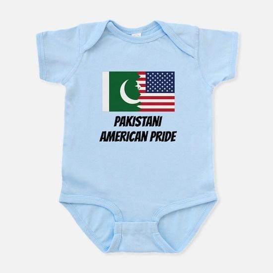 Pakistani American Pride Body Suit