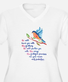 He will Cover You Plus Size T-Shirt