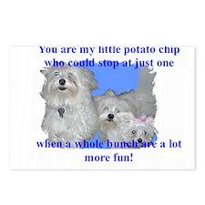 Unique Potato chips Postcards (Package of 8)