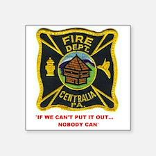 Centralia Pa. Fd. Sticker