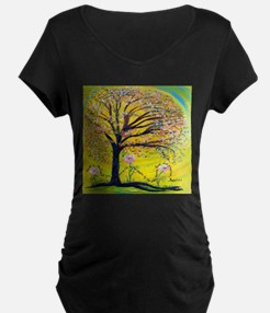 A Tree Planted by the Water Maternity T-Shirt