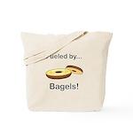 Fueled by Bagels Tote Bag