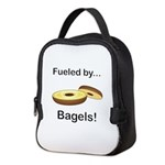 Fueled by Bagels Neoprene Lunch Bag