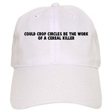 Could crop circles be the wor Baseball Cap
