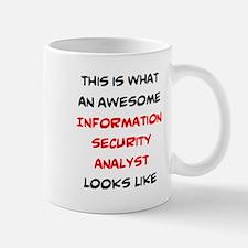 Awesome Information Security Analyst Mug Mugs