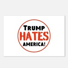 Trump Hates America Postcards (Package of 8)